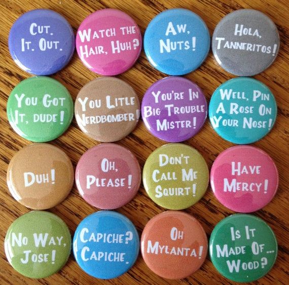 Catchphrases Pins