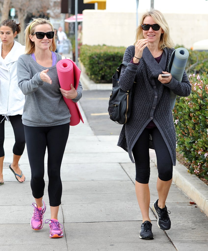 It's Official: Reese and Naomi Are Yoga Pals