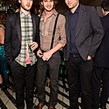Tom Sturridge, Andrew Garfield, and Robert Pattinson were a handsome lot at a Vogue UK dinner in February 2009.