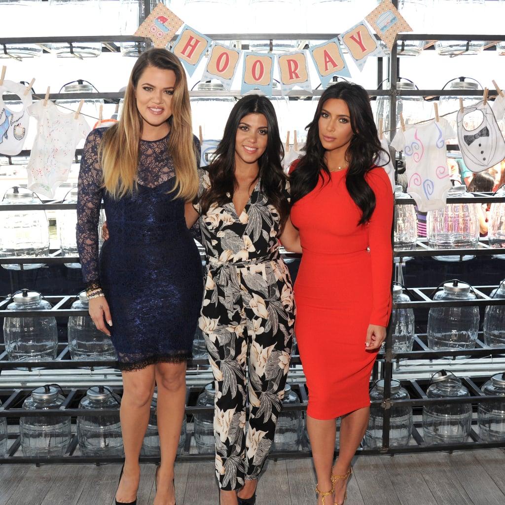 Kardashians Host Military Baby Shower Popsugar Family