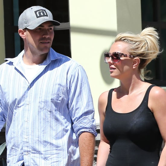 Britney Spears and David Lucado Holding Hands | Photos