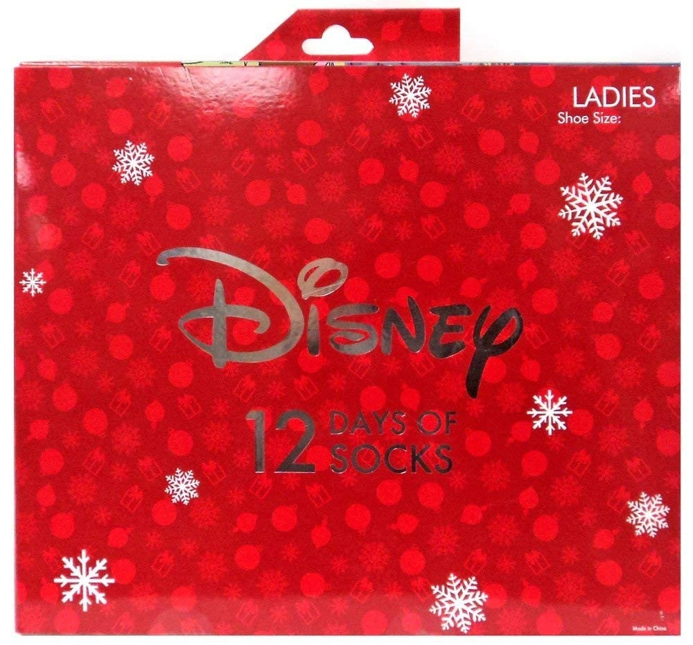 Disney Socks Advent Calendar 2018