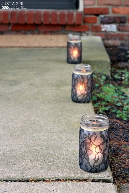 Elegant Lace Lanterns