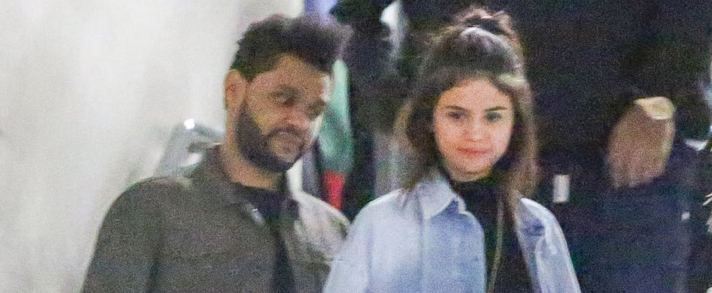 Selena Gomez and The Weeknd Hold Hands During a Low-Key Outing in Hollywood