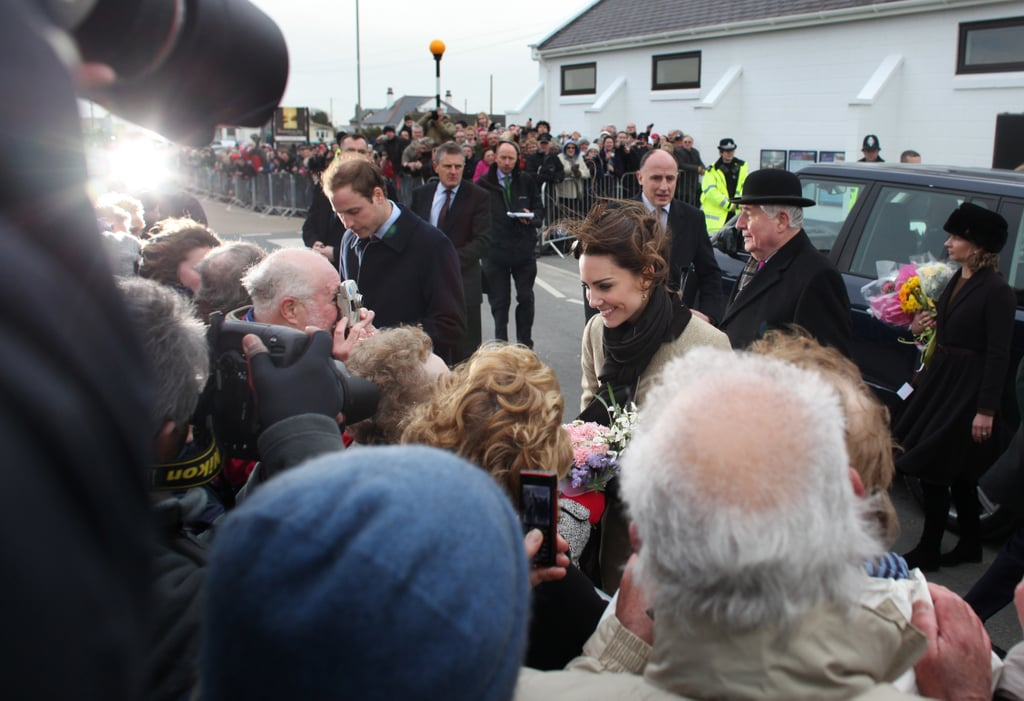 Kate and Prince William Make Their First Official Visit in Wales!
