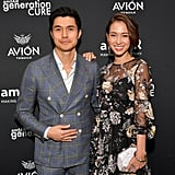 Henry Golding and Liv Lo Cute Pictures