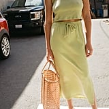 Lisa Says Gah Simone Knit Maxi Skirt