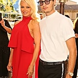 Pamela Anderson and Son at Sea Shepherd Charity Event 2017