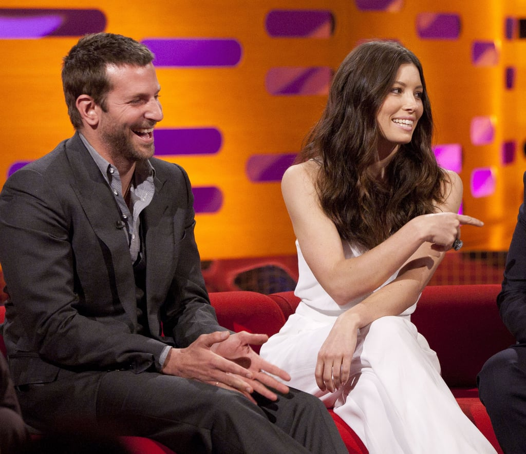 Jessica Biel Gets a Head Start on Her New Year's Celebration With Bradley Cooper