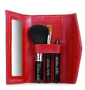 Simply Fab: Laura Mercier Red Micro Mini Brush Set