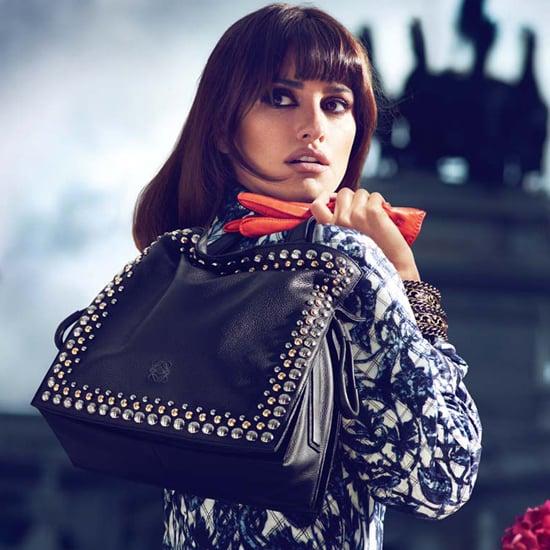 Penelope Cruz and Sister Design Bag For Loewe
