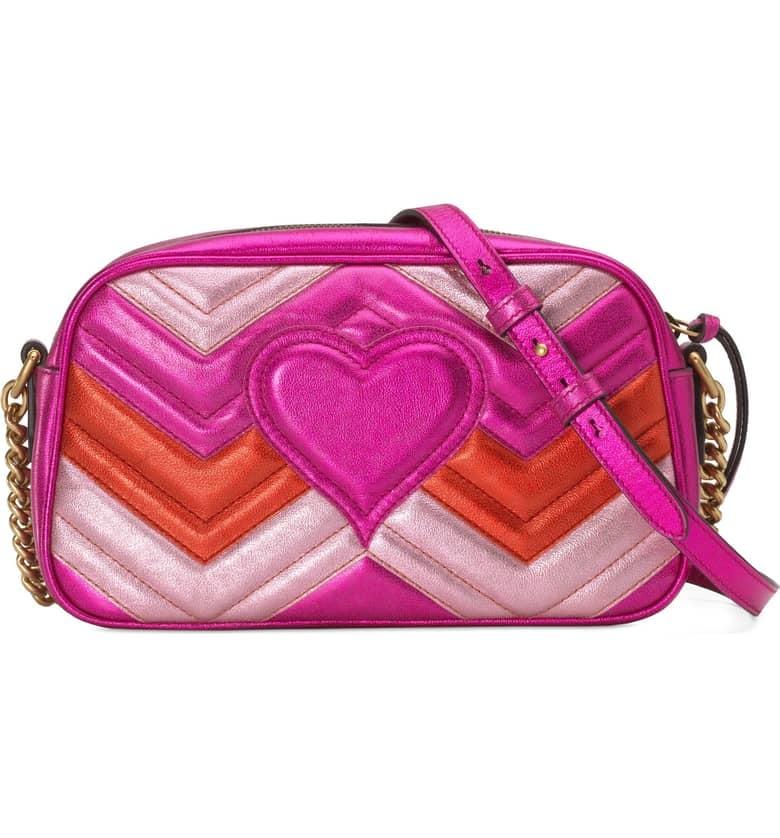 06de2263e794b Gucci Marmont 2.0 Leather Crossbody Bag