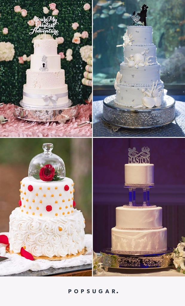 Disney Wedding Cake Ideas POPSUGAR Food