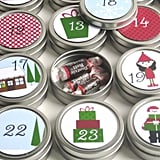 Magnetic Tin Advent Calendar ($42)