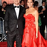 Justin Timberlake and Jessica Biel in 2009