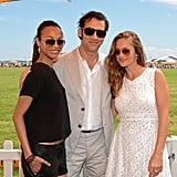 Rachel Zoe Brings Skyler Along For a Polo Day With Clive Owen
