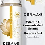 After you exfoliate, you should follow up with an active ingredient. There are a ton of different kinds, all with different benefits, but Vitamin C is by far my favorite. This Derma E Vitamin C Concentrated Serum Natural Fragrance Oils ($22) brightens my skin, so it's really effective at healing scarring or discoloration caused from acne. It also makes me feel radiant, and who wouldn't love that?
