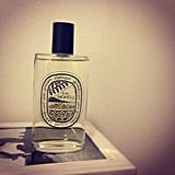And here's Diptyque's newest fragrance, Eau Moheli! It has a ylang-ylang base (delish) and is out in a few weeks.