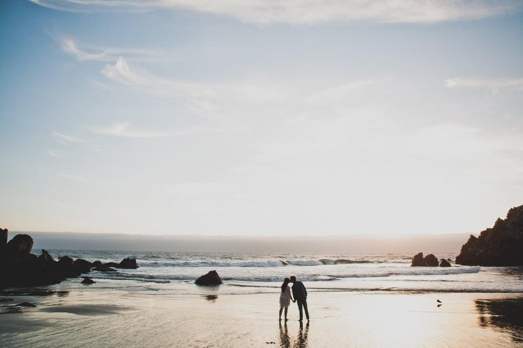 Beach Elopement Photos