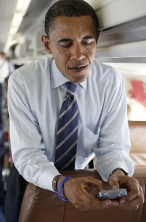 What Will Barack Replace His BlackBerry With?