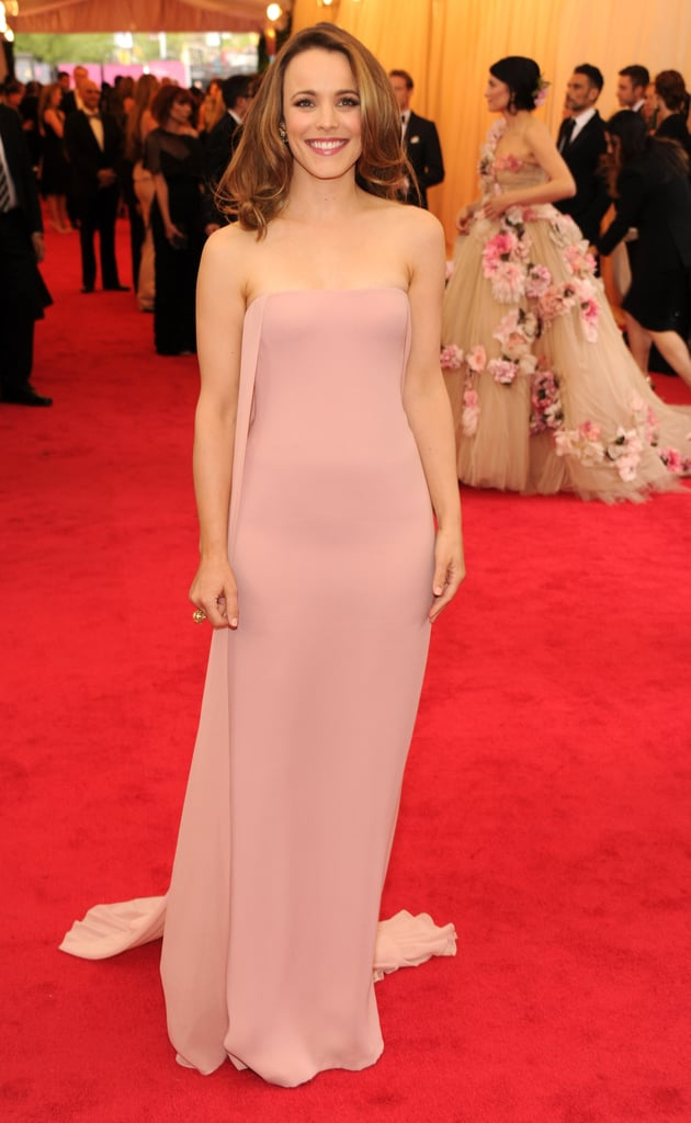 Rachel McAdams at the 2014 Met Gala