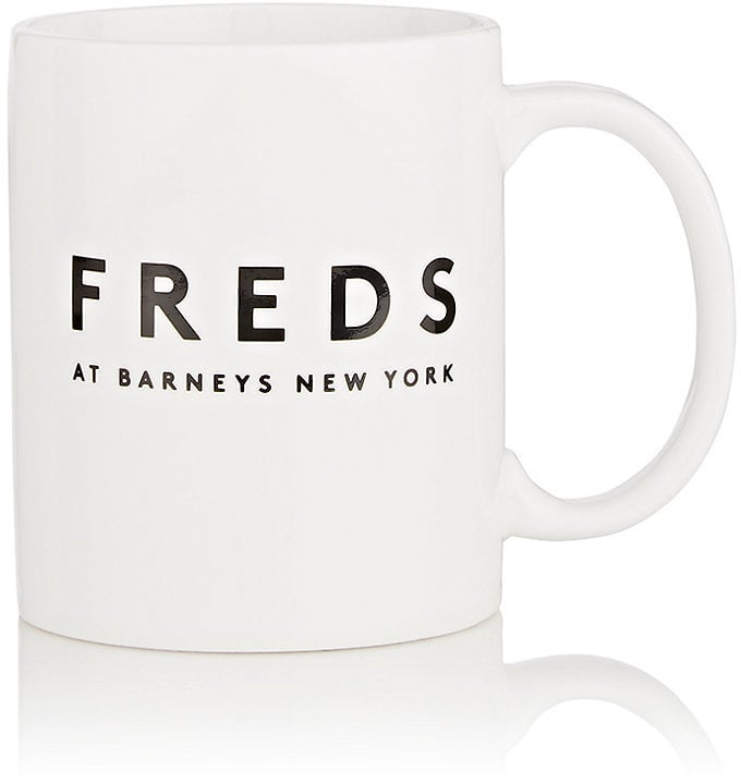 Freds at Barneys New York Logo Ceramic Mug