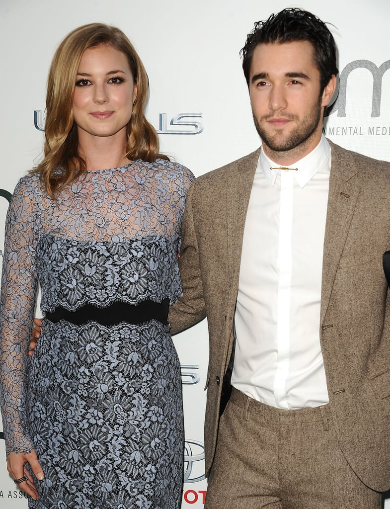 The Cute Couple at the Environmental Media Awards in 2014