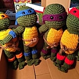 These Teenage Mutant Knitted Turtles