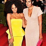 Rachel Roy had a previous relationship with Solange Knowles.