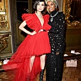 Sofia Carson Brought the Drama in This Red Gown