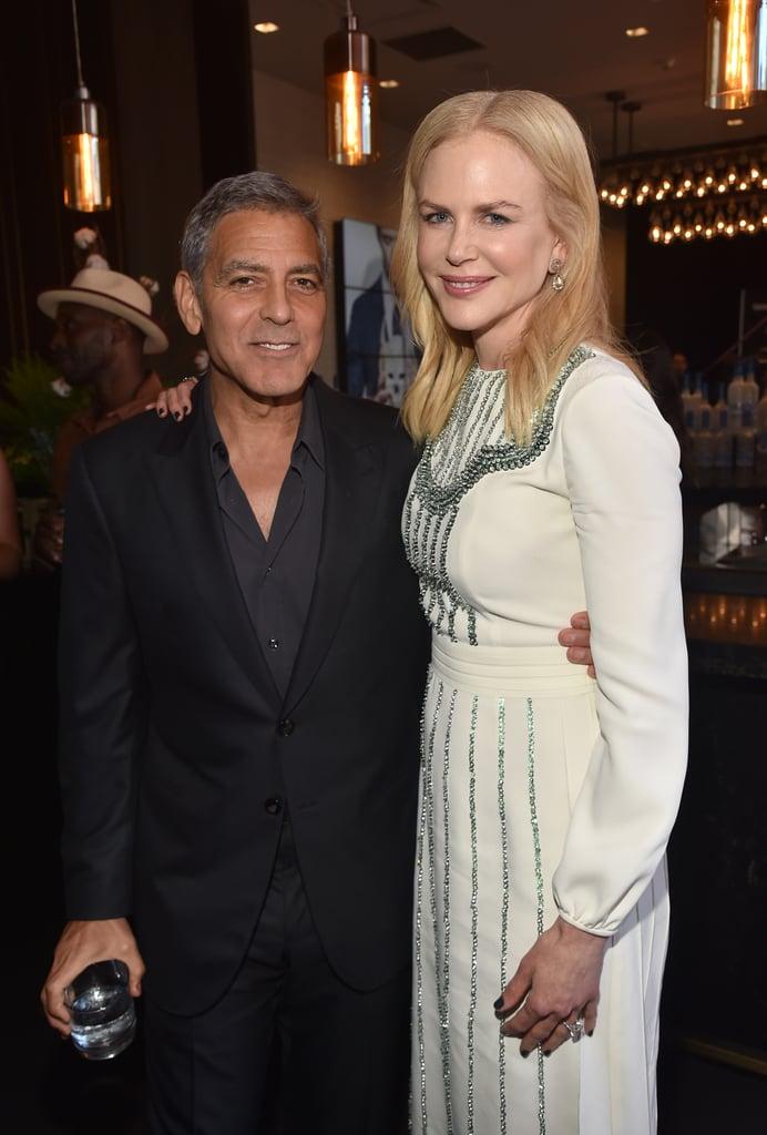 George Clooney and Nicole Kidman