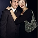 Joaquin Phoenix and Liv Tyler