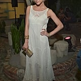 Ashlee Simpson arrived at Kitson in Beverly Hills for the Missoni Havaianas launch party.