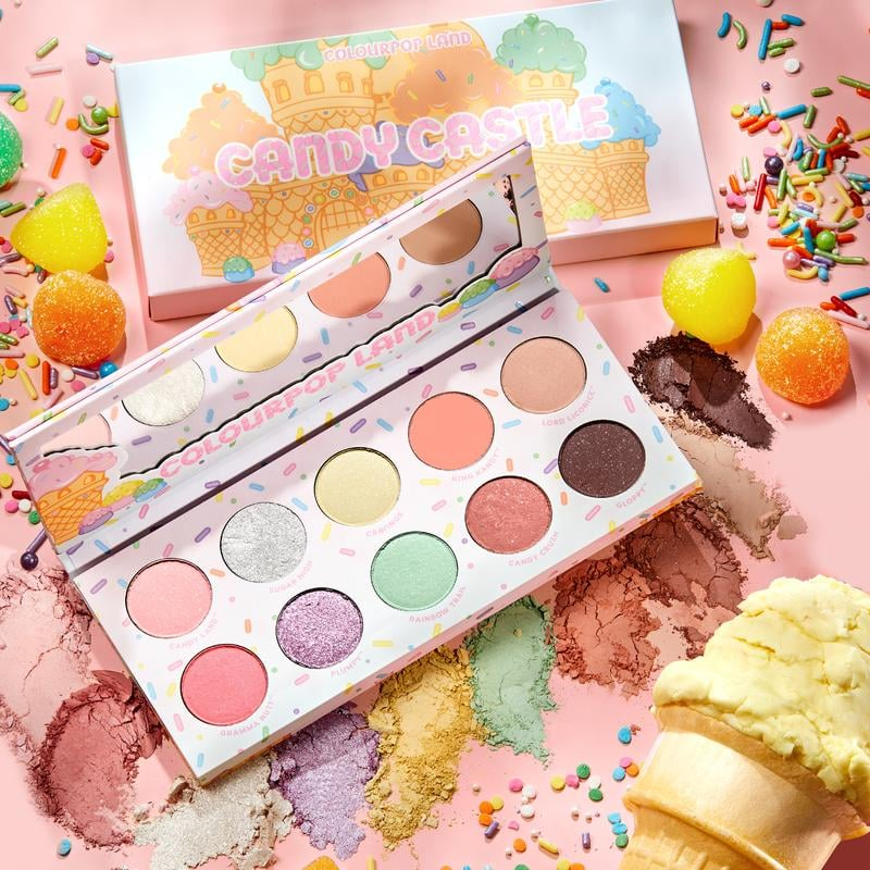 ColourPop Candyland Candy Castle Eyeshadow Palette
