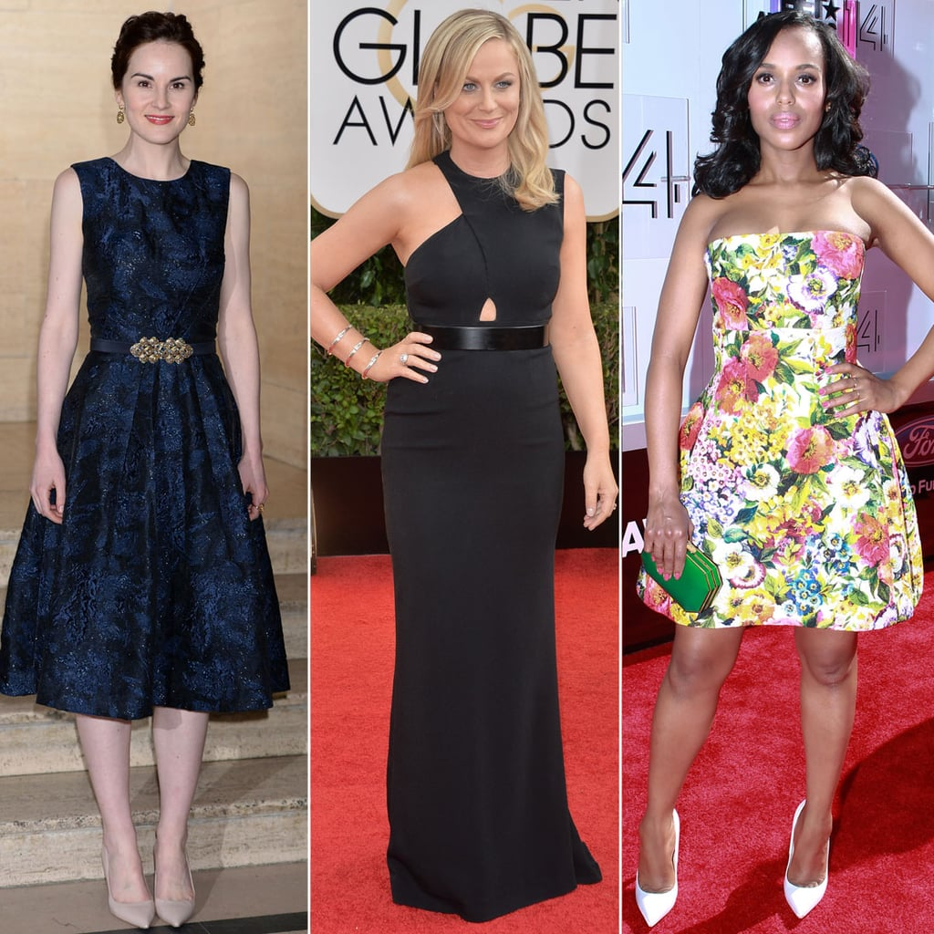 2014 Emmy Nominees' Red Carpet Dresses