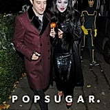 Kate Moss Dressed Up For Halloween in London 2012