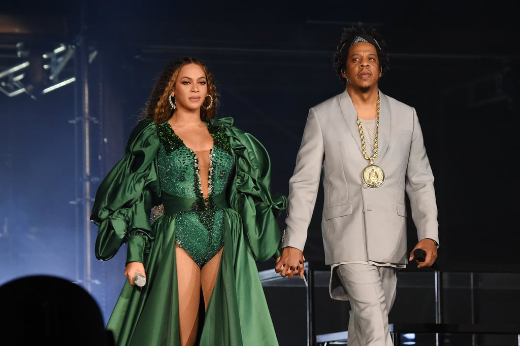 She and JAY-Z celebrated their 11th wedding anniversary.