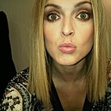 Fearne Cotton has been showing off her new haircut.