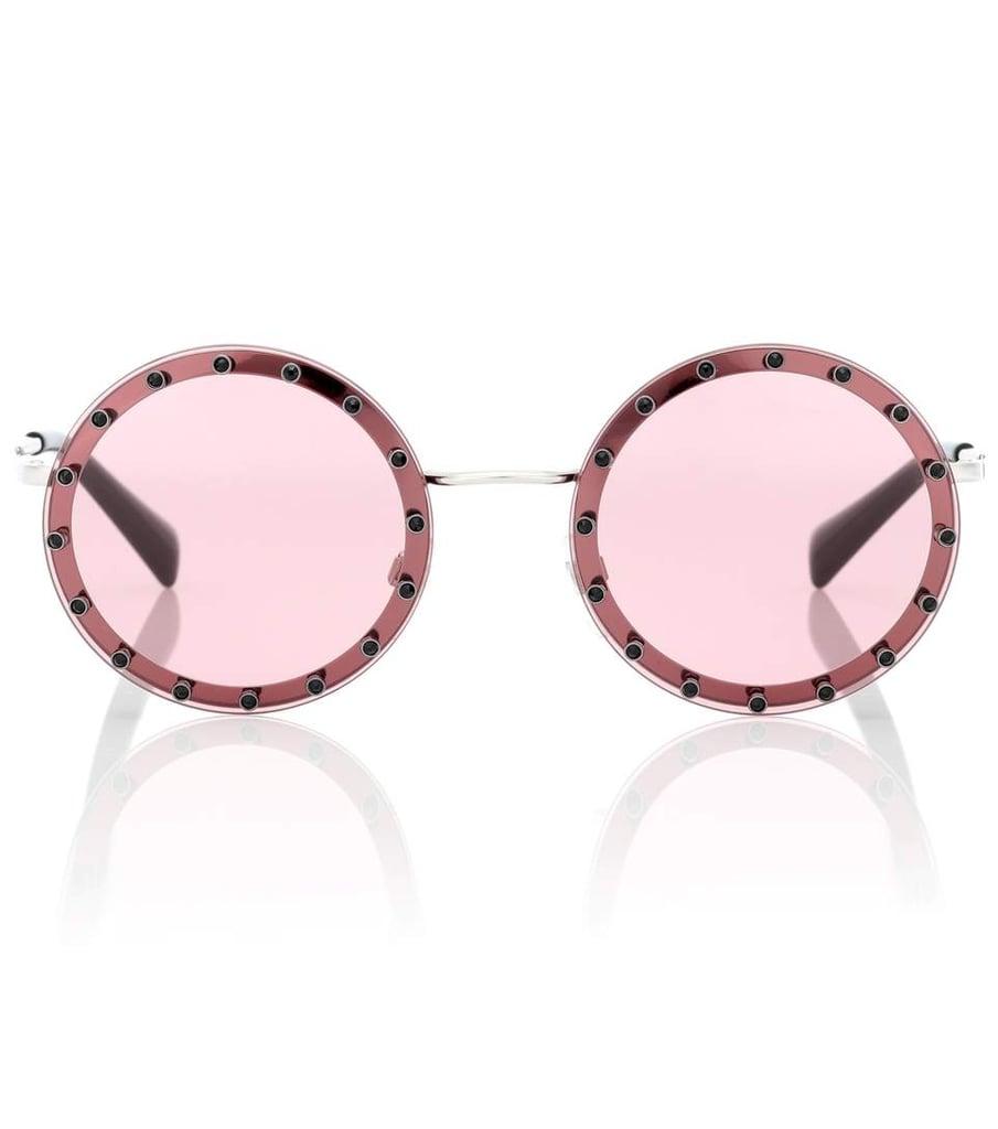 ceb2440a6df Valentino Garavani Embellished Sunglasses