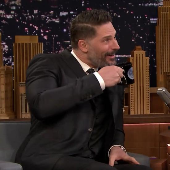 Joe Manganiello Doing Impressions on The Tonight Show Video