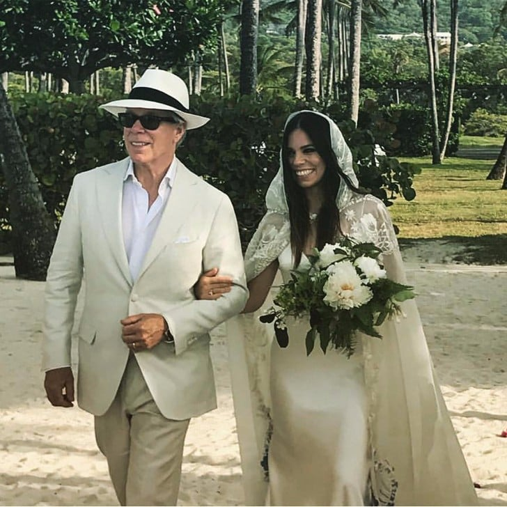 Ally Hilfiger\'s Wedding Dress | POPSUGAR Fashion