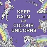 كتاب لتلوين رسومات اليونيكورن (Keep Calm and Colour Unicorns)