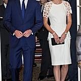Kate Middleton in Lela Rose