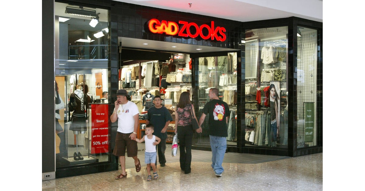Clothing stores from the 90s