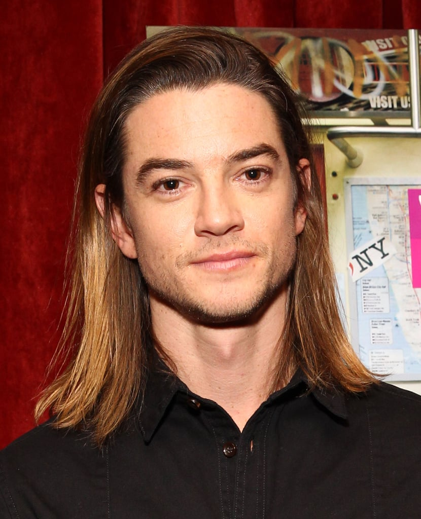 Craig Horner as the Count of Monte Cristo