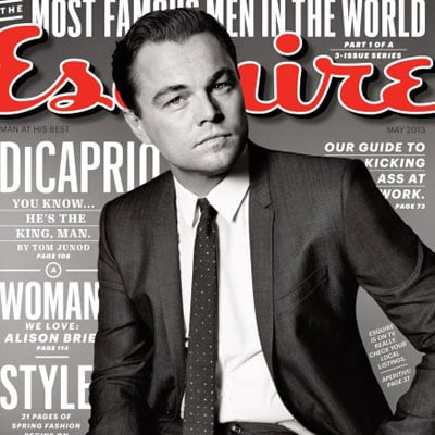 Leonardo DiCaprio in Esquire May 2013