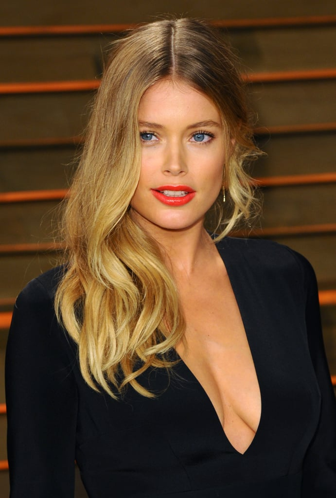 Doutzen Kroes at Vanity Fair Party