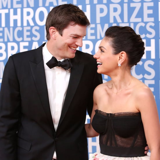 Ashton Kutcher and Mila Kunis at Breakthrough Prize Ceremony