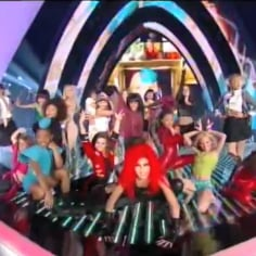 Britney Spears Tribute at VMAs 2011