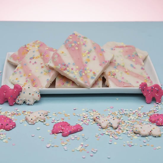Circus Animal Cookie-Inspired Yogurt Bark